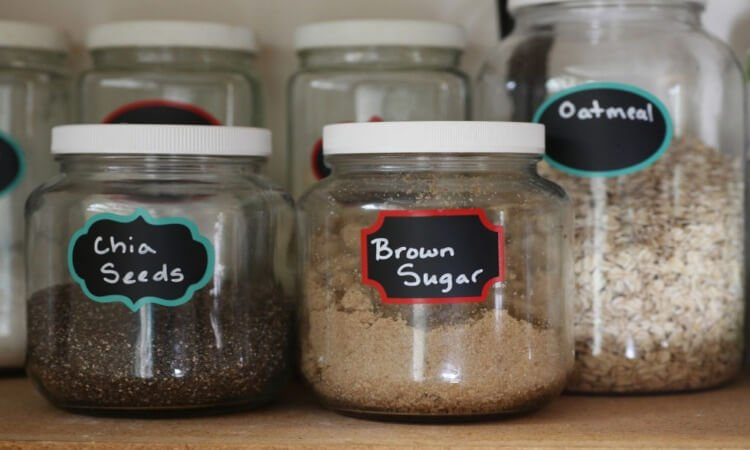 How To Label Pantry Containers