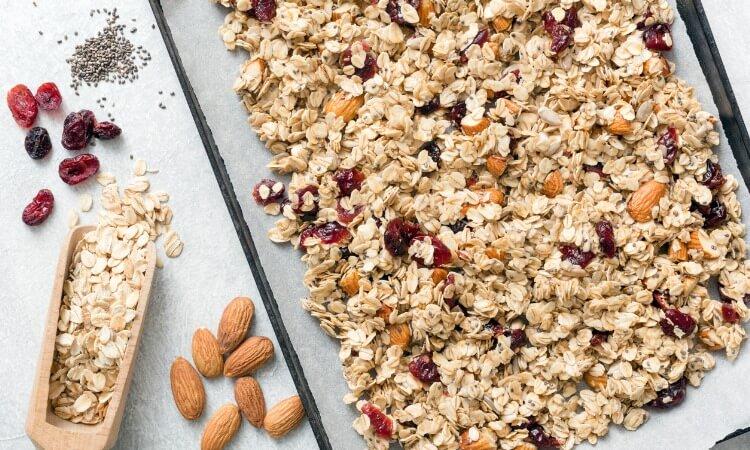 cranberryislandkitchen Delicious And Hearty Homemade Granola Recipe 1