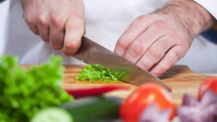 How To Chop With A Chef's Knife The Right Way