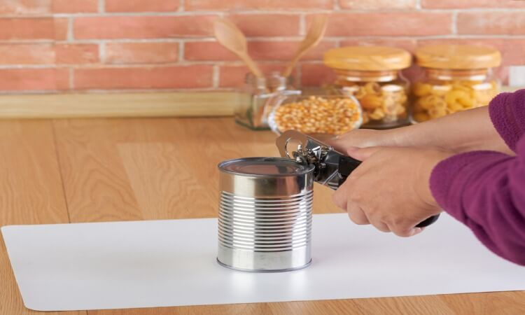 How To Open A Can With A Can Opener