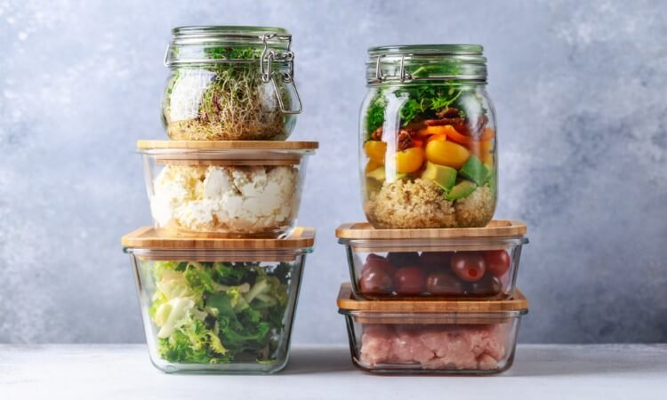 How To Organize Glass Food Storage Containers